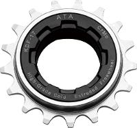 ATA Freewheel - 1/2 x 1/8, 16T, Black/ Nickel