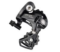 MICROSHIFT Rear Derailleur - 2 x 10 Speed - Short Cage - Max Sprocket 25-32T - Bracket Body Aluminium - Plate Body Resin - 195g