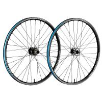 FUNN Wheelset - FANTOM AM30 (Int 25mm) - 27.5  - 32H -  6 Bolt Disc Mount, F:110mm/15mm R:148mm/12mm - Shimano Drive body_Black