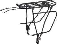 KWT PANNIER RACK REAR -  ADJUSTABLE 24-29 INCH  - DISC BRAKE COMPATIBLE - FLAT PACKED UNASSEMLBED